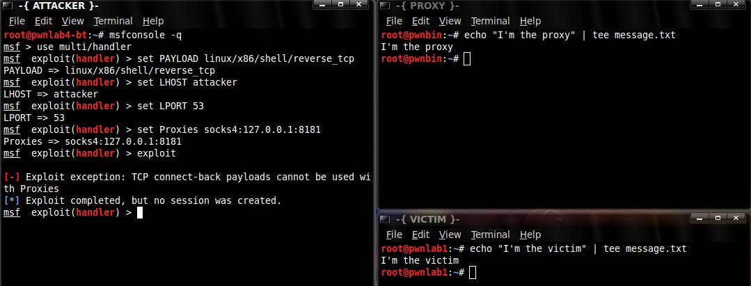Using SSH Socks Proxies with MSF Reverse TCP Payloads